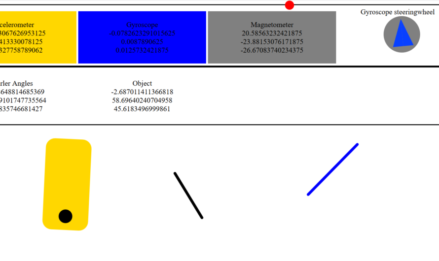 Android phone sensor data into Socket.io / Node.js
